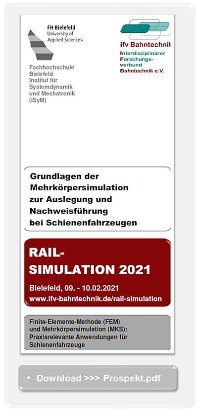 Rail Simulation Www Ifv Bahntechnik De